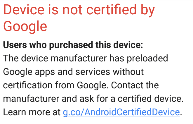 Mygica Google Uncertified.PNG